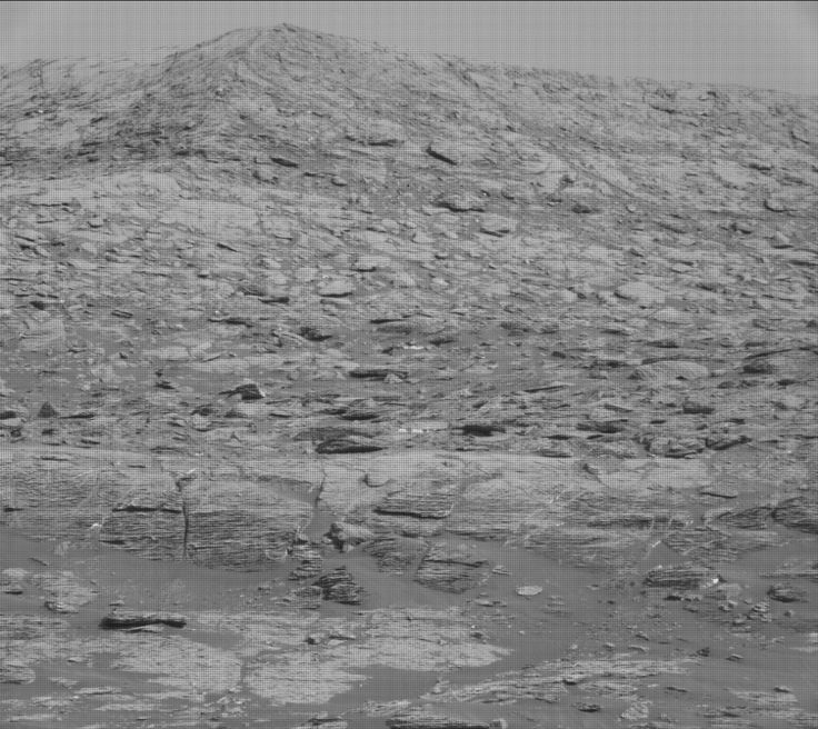 NASA's Mars rover Curiosity acquired this image using its Mast Camera (Mastcam) on Sol 1726
