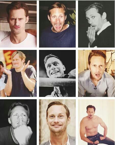 Alexander Skarsgard - Too cute. Love this.                                                                                                                                                      More