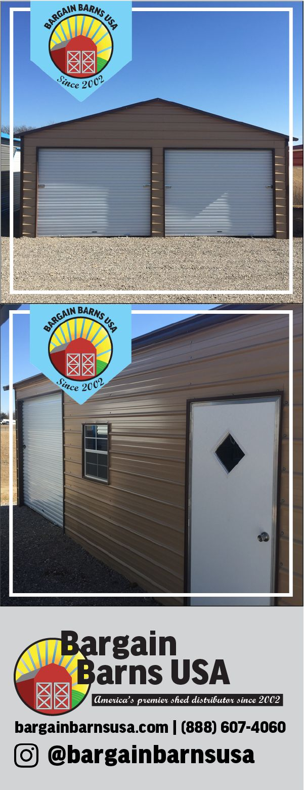 Best 25 roll up doors ideas on pinterest roll up garage door 24 x 25 x 9 boxed eave 2 car garage this unit features 2 9 x 8 roll up doors on the gable end as well as an 8 x 8 roll up rubansaba
