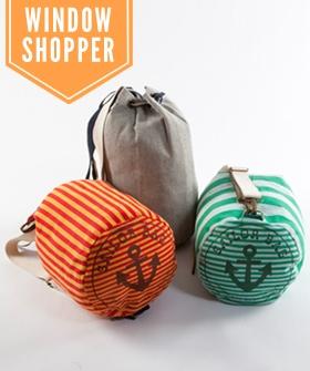Window Shopper: Marc Jacobs X Peseta Sailor Backpack