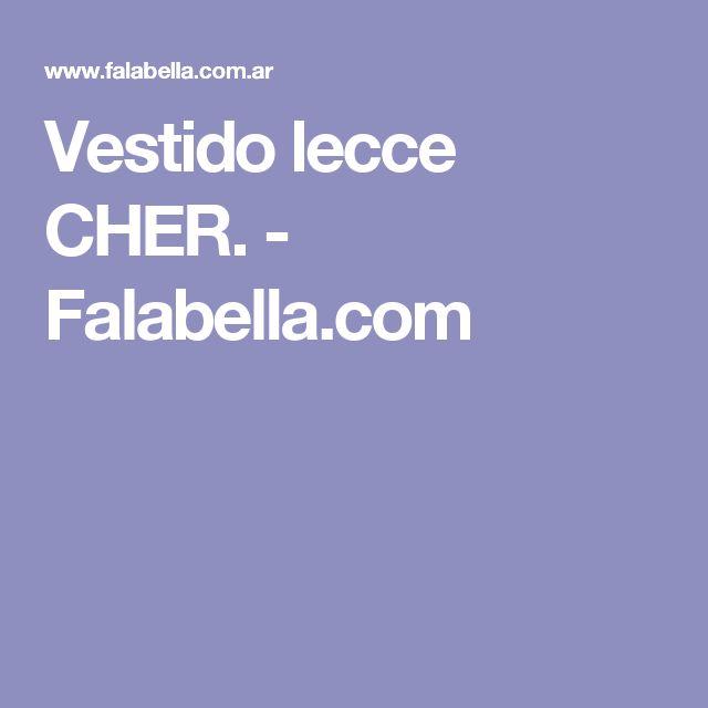 Vestido lecce CHER. - Falabella.com