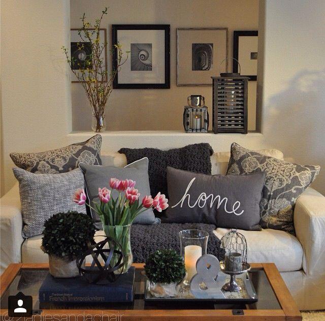 cozy pillows