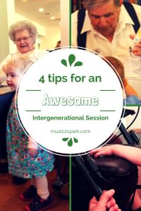Here are 4 tips for planning intergenerational sessions.