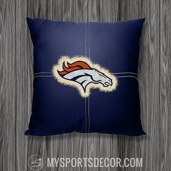 Denver Broncos are in the AFC Championship again!  Support your Broncos with some decorative gear for your home, office, child's bedroom & more.  This Denver Broncos Toss Pillow is a subtle but stylish way to show your love.  Get this & other Broncos decor at: http://mysportsdecor.com/denver-broncos-merchandise.html  #denverbroncos #broncos #denver #broncosnation #nfl #football #homedecor #homedecorideas #homedecoratingideas #sportskidsroom #sportsmom
