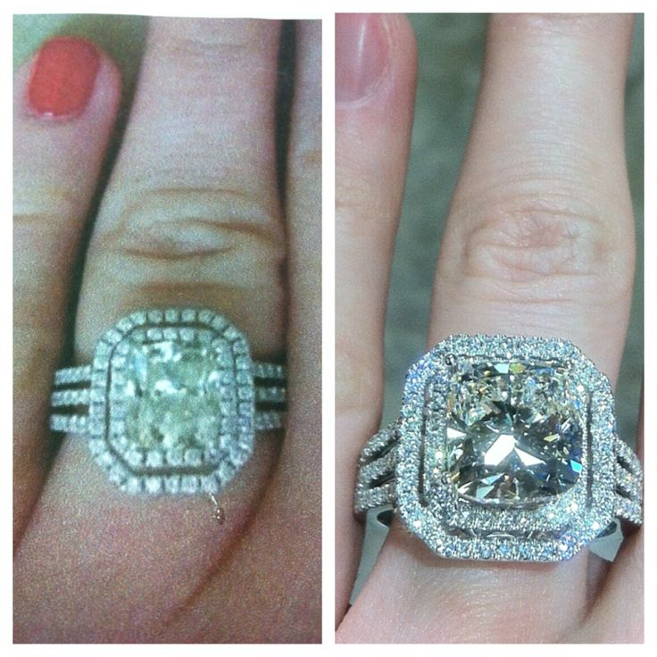 Have something in mind you cant seem to find anywhere? We specialize in custom jewellery. The ring on the left was an image our customer found. The image on the right was the ring we made for her. www.roset.net chels@roset.net