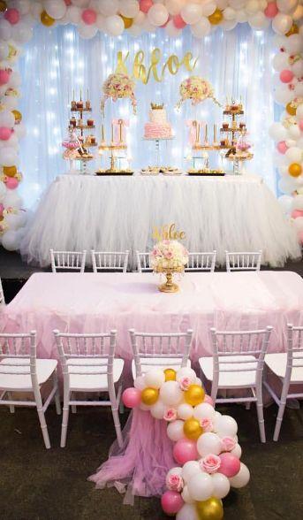 Decora tu fiesta con globos y flores muy elegante for Decoracion con plantas para fiestas