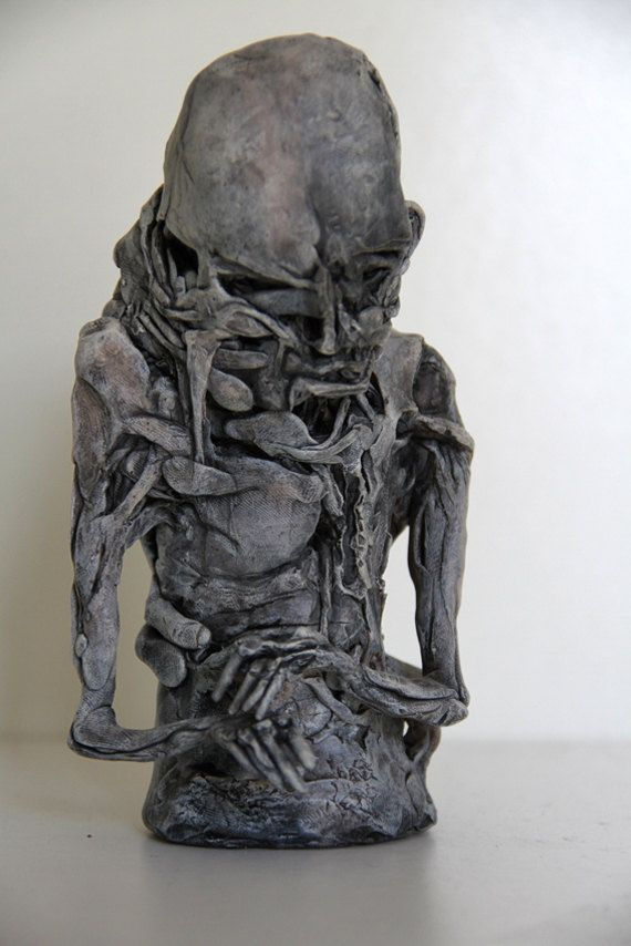Unique Abstract Figurative Sculpture By Lonelypuddings On