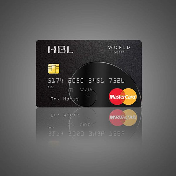 Challenge: Design a card for HBL, on of the oldest banks in Pakistan, for their high-end clientele across the world, which encapsulates the idea of being a cut above the rest.