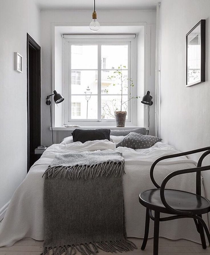 teeny cozy bedroom. i could nap major in here.