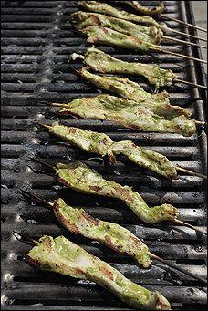 Lemon-Herb Chicken Satays Recipe Details | Recipe database | washingtonpost.com
