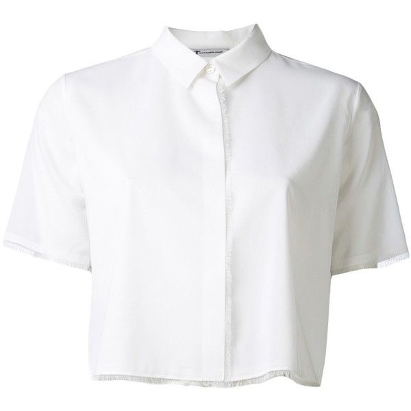 T BY ALEXANDER WANG lightweight stretch shirt found on Polyvore