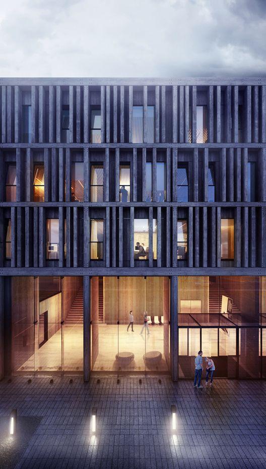 Visualizaci n en arquitectura maison du batiment d - Maison architecture contemporaine grupo arquitectura ...