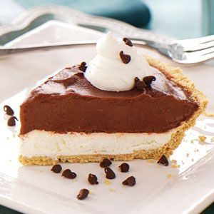Chocolate Cream Cheese Pie--This is very similar to the recipe that we made for Thanksgiving and Christmas. But, used Oreo Crust and Chocolate Fudge Pudding!