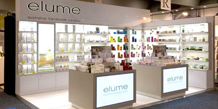 Elume Custom Display, 2015.