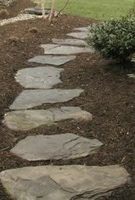 Rock Pathways Unique Best 25 Rock Pathway Ideas On Pinterest  Rock Yard Rock Walkway . Decorating Design