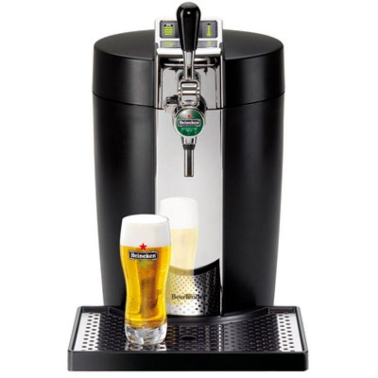 • Pour fûts avec système Beertender (fûts 5 litres qu'on trouve dans toutes les grandes surfaces)• Pompe avec Indicateur du volume restant et avec indicateur de température par voyants