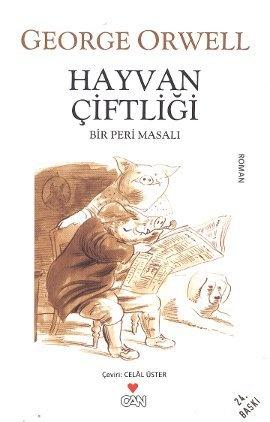 Hayvan Çiftliği  Bir Peri Masalı - George Orwell (Eric Blair)  - Can Yayınları