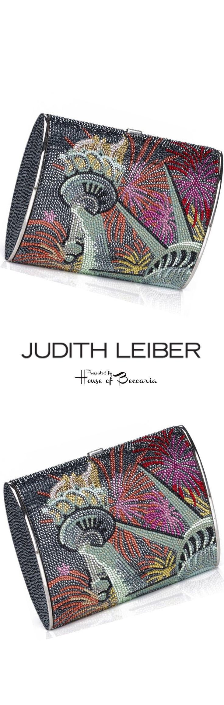 "~Judith Leiber ""Lady Liberty"" Swarovski Crystal Clutch Bag | House of Beccaria#"