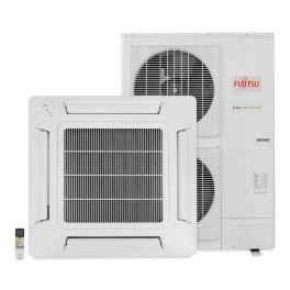 Ar Condicionado Split Inverter Cassete 45000 Btus Quente e Frio 220v Fujitsu AUBG54LRLA