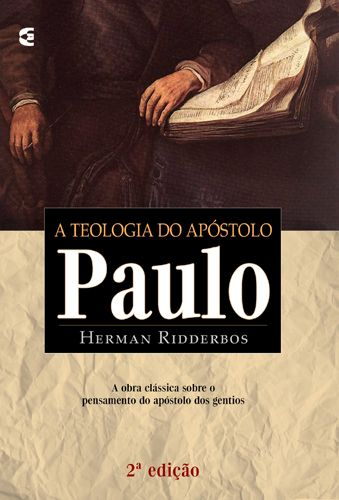 A Teologia do Apóstolo Paulo ~ Herman Ridderbos [https://www.youtube.com/watch?v=Wh7hBZ_-r3I&feature=share] [http://www.editoraculturacrista.com.br/loja/livro/teologia-do-apostolo-paulo-a-2-edicao-878] [https://www.facebook.com/notes/projeto-veredas-antigas/1tgpva-biblioteca-reformada-%C3%ADndice-do-painel-07-/368083510051246] * Indicação Rev. Daniel Hyde