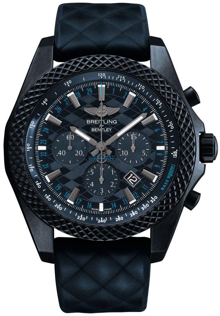 Breitling Bentley GT 'Dark Sapphire' Edition Watch #menwatches