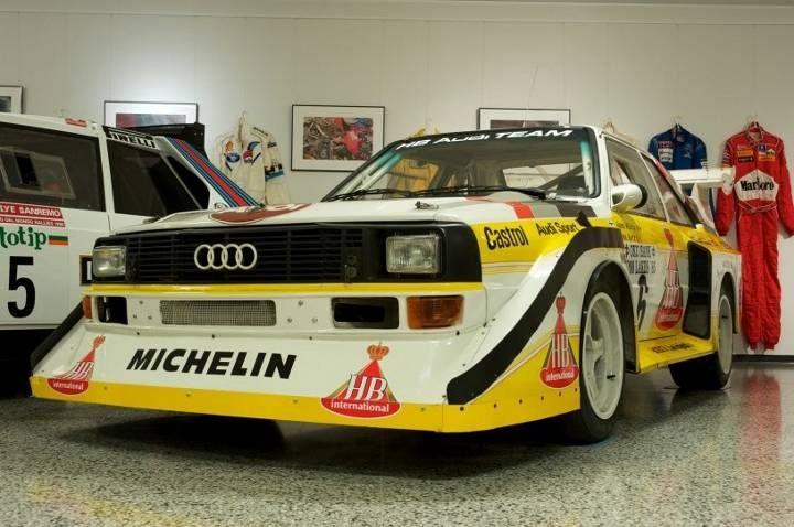 Audi Quattro S1, Juha Kankkusen automuseo Laukaa