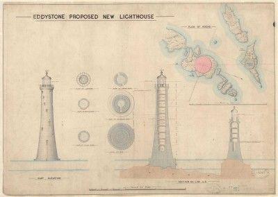 Lighthouse prints | Trinity House, Eddystone