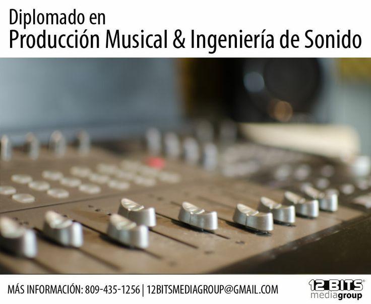 Diplomado en Producción Musical & Ingeniería de Sonido, más informacion 809-435-1256 | info@12bitsmediagroup.com