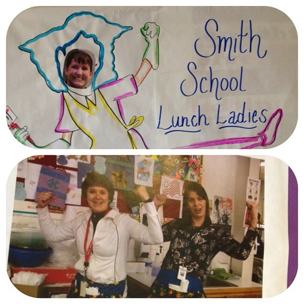 Crafty Teacher Lady February 2013: 17 Best Images About School Lunch Hero Day On Pinterest