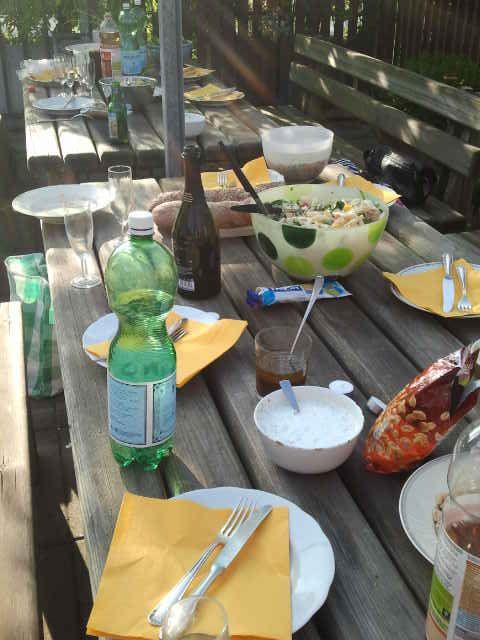 2013-06-08 Hopping Dinner Grillierplausch in Zürich - Hat voll Spass gemacht, danke an die Gastgeber!