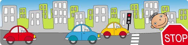 Prévention route enfants, apprendre les panneaux de signalisation et se prémunier contre les dangers de la route