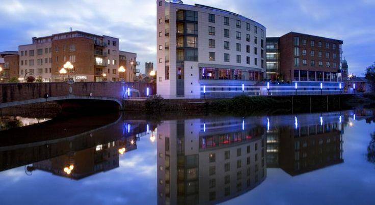 Absolute Hotel Limerick Limerick Overlooking the Abbey River in Limerick's Medieval Quarter, this luxurious Absolute Hotel boasts chic, stylish rooms with 32-inch plasma TVs.  Spacious rain showers are provided in each modern bathroom.