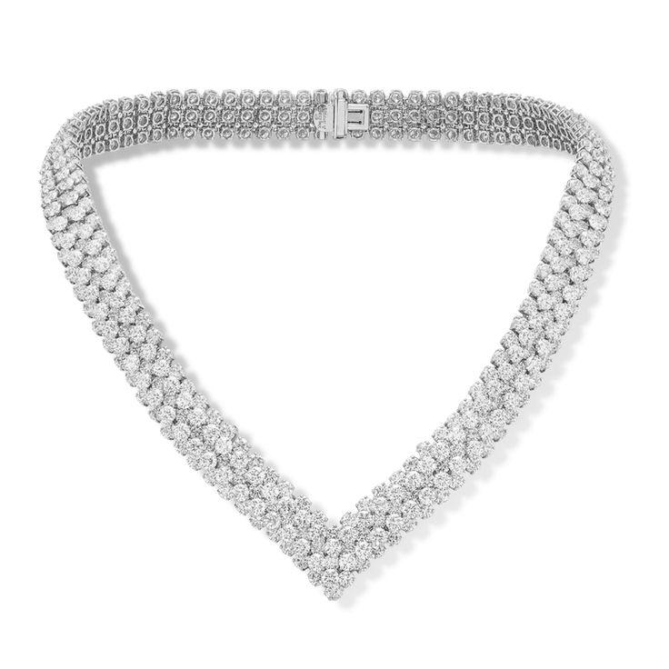 À Cheval necklace, 5 strands - VCARO9CP00- Van Cleef & Arpels