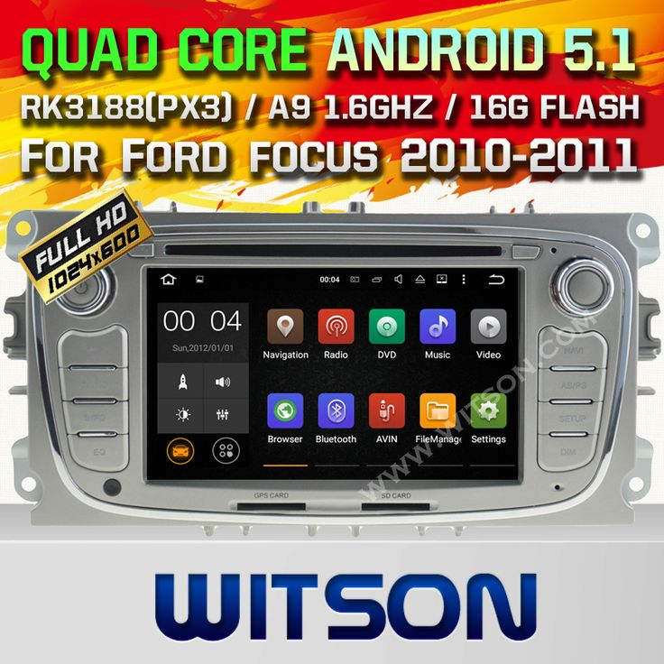 WITSON Quad Core Android 5.1 CAR DVD GPS for FORD MONDEO(2007-2013)/FOCUS(2008-2011) car audio player Capacitive touch screen