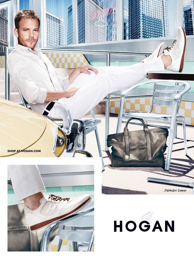 #HOGAN Men's Spring - Summer 2013 ‎#collection, for laid-back ‎#elegance, all summer long: OLYMPIA X ‎#sneakers H205.