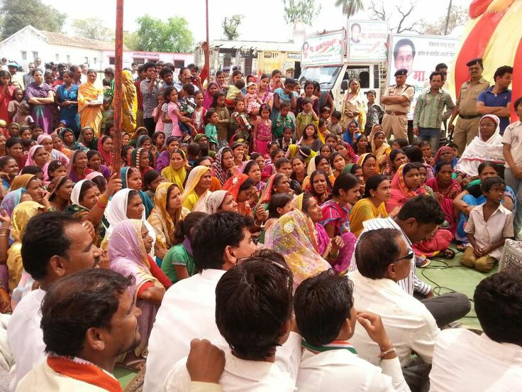 Crowd waiting to hear Shri Kamal Nath where he is addressing a public meeting in Gajandoh of Parasia. #Politics #Rally #PoliticalRally #Chhindwara #Parasia #KamalNath #IndianNationalCongress #Election #ElectionTracker #Election2014 #MadhyaPradesh