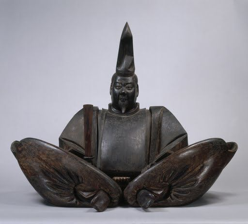 Seated Portrait of Minamoto Yoritomo (Presumed) - Kamakura period, 13th-14th century. Japan.