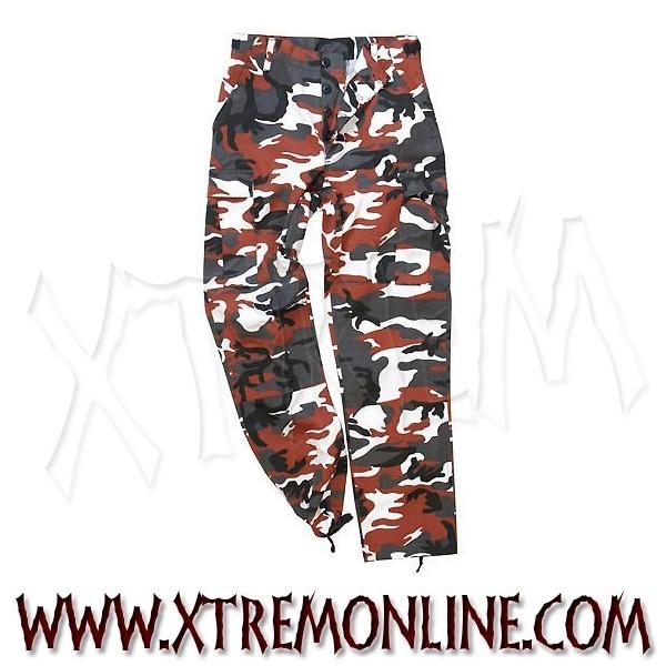 Pantalón US Ranger de camuflaje rojo XT2723 ¡Echa un vistazo a nuestra colección de pantalones de camuflaje! Artículos en stock. Envíos inmediatos.