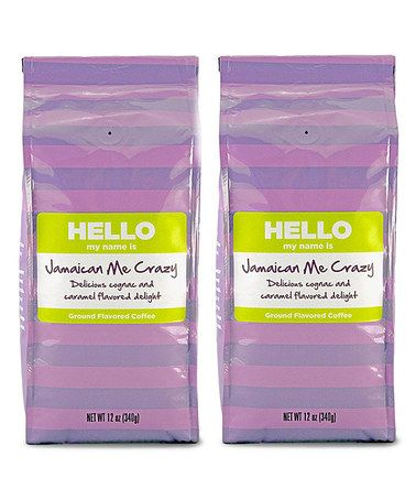 Look at this #zulilyfind! Jamaican Me Crazy Coffee – Set of Two #zulilyfinds