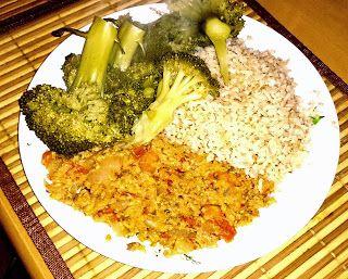 De Gezonde Keuken: Recept: Pittige Makreel met Broccoli en Rijst