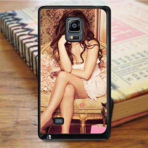 Selena Gomez Singer Sexy Painting Samsung Galaxy Note 4 Case