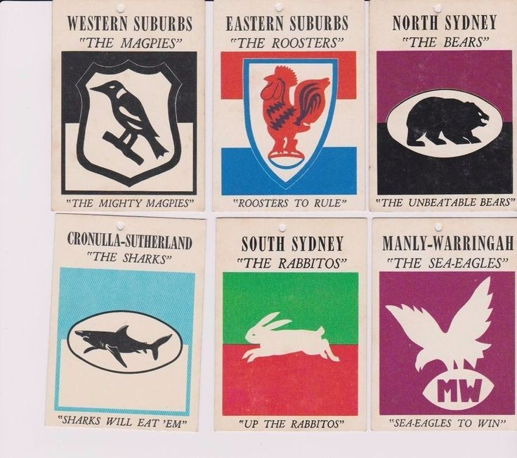 Scanlens 1968 / 1969 Rugby League Cards NRL / ARL in Sporting Goods, Sports Trading Cards, Rugby League (NRL) Cards | eBay!