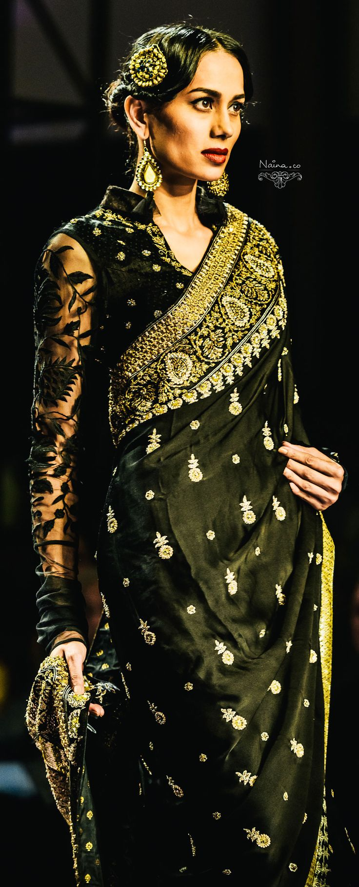 Ritu Kumar : Grand Finale WIFW SS '13 Find Similar Exclusive Laces and fabrics @ www.lacxo.com