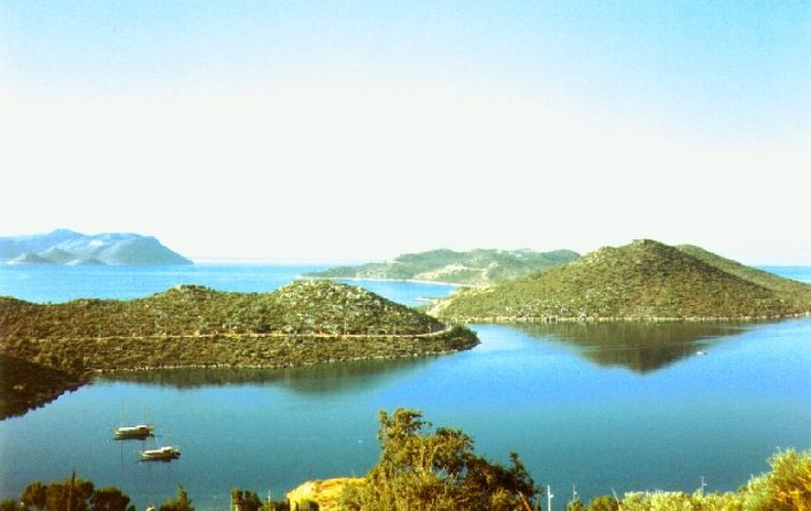 Beautiful view from Kas