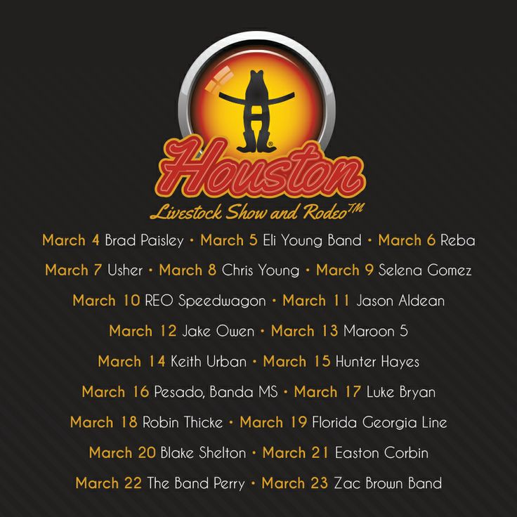 2014 LINEUP! REPIN to your FRIENDS!