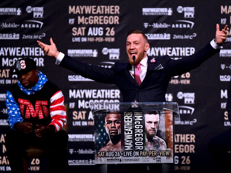 Conor McGregor wore a custom suit to the Mayweather press conference with a vulgar message sewn into it - Conor McGregor and Floyd Mayweather held their first press conference on Tuesday for their much anticipated fight in Las Vegas on August 26th.  An artful trash-talker, McGregor wasted little time tearing into Mayweather's clothes and troubles with the tax man . McGregor was dressed for the occasion, wearing a custom-made suit, and quickly chided Mayweather for his lackluster appearance…