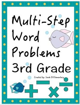 math worksheet : multi step math word problems 4th grade worksheets  problem  : Multi Step Math Word Problems 4th Grade Worksheets