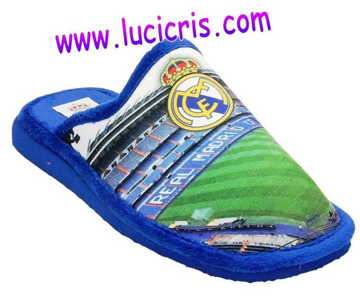 Zapatillas REAL MADRID andar por casa Estadio Bernabeu