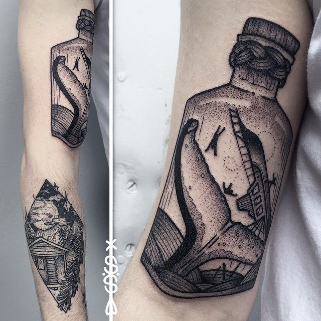 Electric Tattoos | Sarah Herzdame