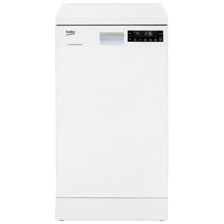 Beko Slimline Dishwasher | DFS28R20W | A++ | ao.com